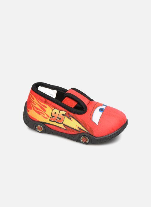 Chaussons Cars Speedy Rouge vue détail/paire
