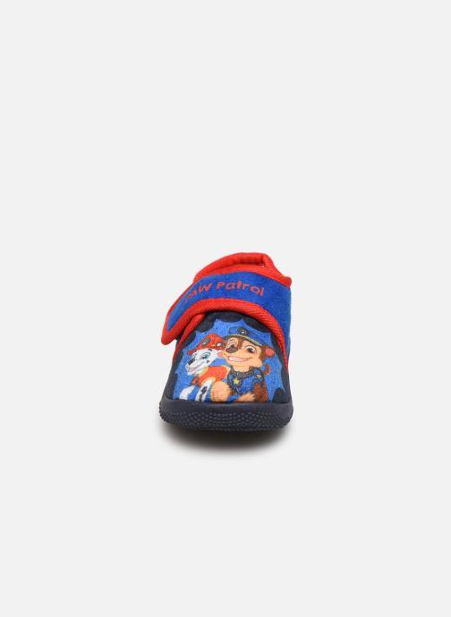 Hausschuhe Pat Patrouille Sarazin blau schuhe getragen