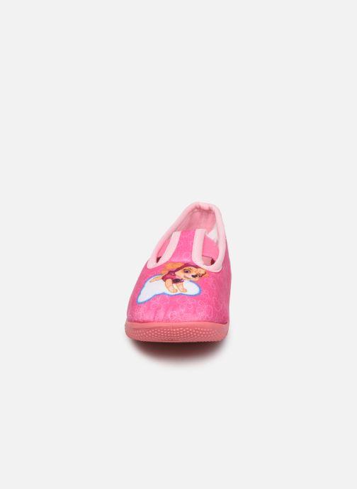 Chaussons Pat Patrouille Sillage Rose vue portées chaussures