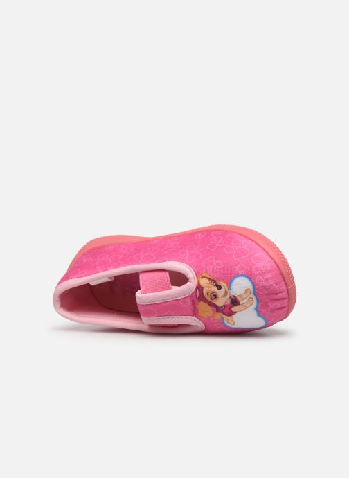 Slippers Pat Patrouille Sillage Pink view from the left