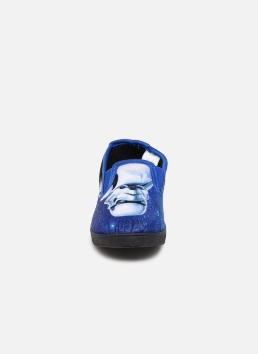 Chaussons Star Wars Soupape Noir vue portées chaussures