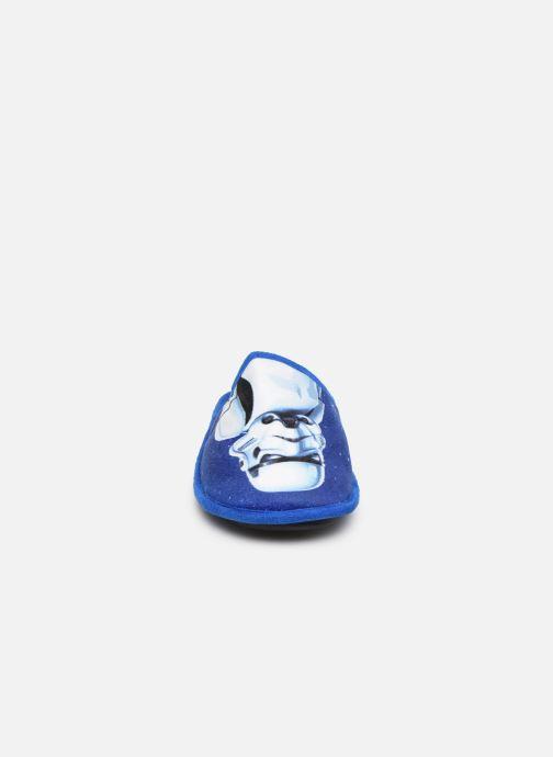 Hausschuhe Star Wars Siberien blau schuhe getragen