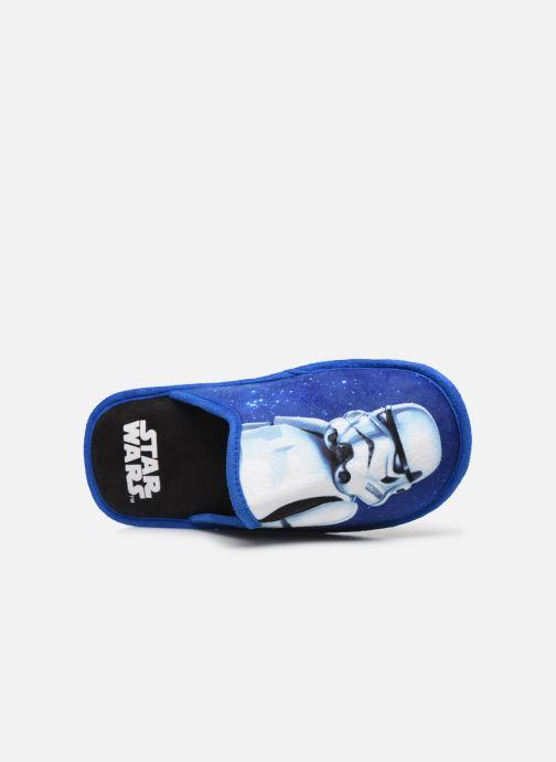 Chaussons Star Wars Siberien Bleu vue gauche