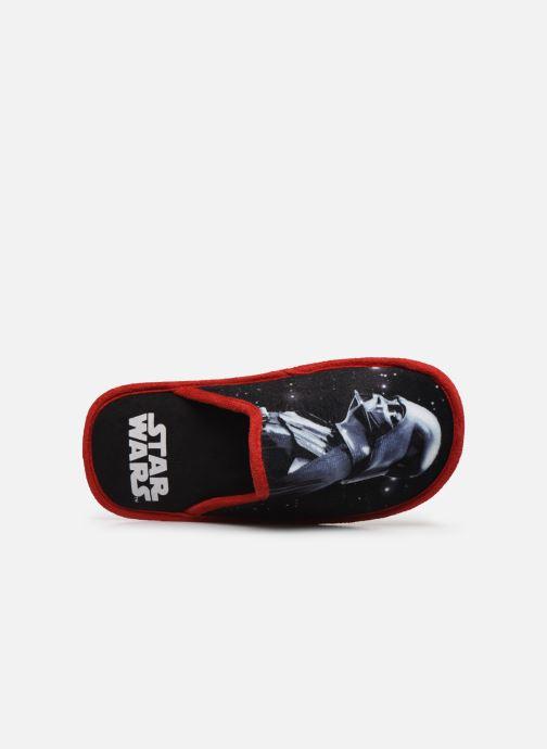 Pantuflas Star Wars Siberien Azul vista lateral izquierda
