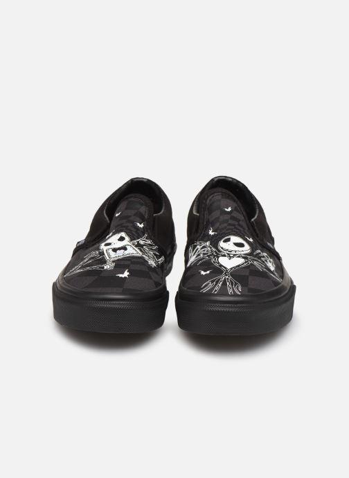 Sneakers Vans Classic Slip-On Disney Nero modello indossato