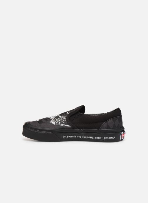 Sneaker Vans Classic Slip-On Disney schwarz ansicht von vorne