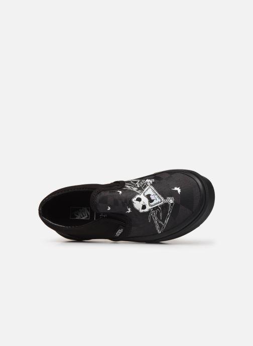 Sneaker Vans Classic Slip-On Disney schwarz ansicht von links