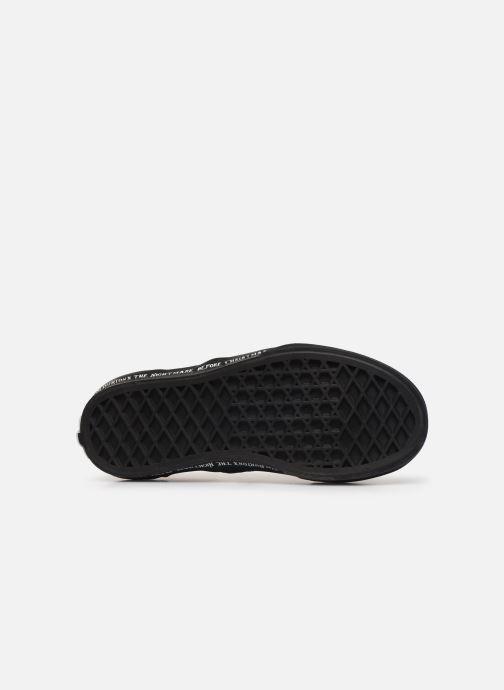 Sneaker Vans Classic Slip-On Disney schwarz ansicht von oben