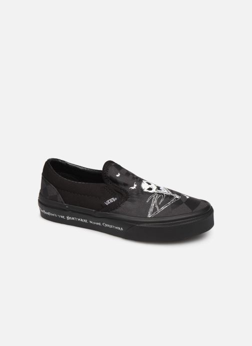 Deportivas Vans Classic Slip-On Disney Negro vista de detalle / par