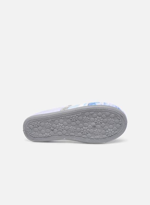 Pantoffels Frozen Spiruline Paars boven