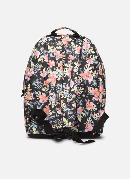 School bags Rip Curl DOUBLE DOME TOUCAN FLORA Black front view