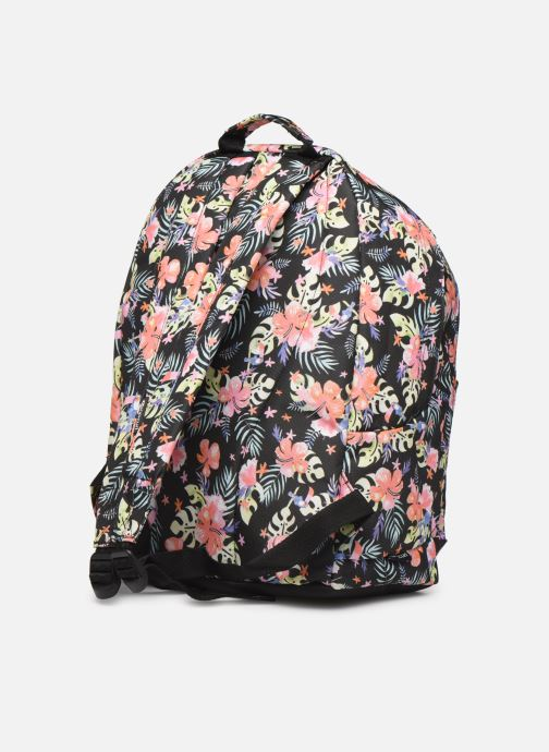School bags Rip Curl DOUBLE DOME TOUCAN FLORA Black view from the right