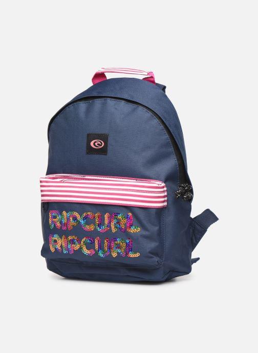 Per la scuola Rip Curl MINI DOME SEQUENS Azzurro modello indossato