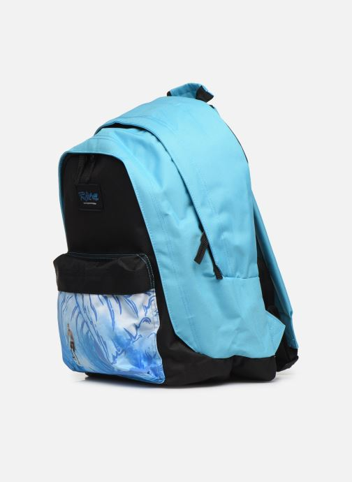 School bags Rip Curl DOUBLE DOME GLOW WAVE Blue model view