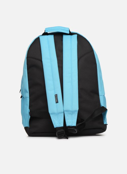 School bags Rip Curl DOUBLE DOME GLOW WAVE Blue front view