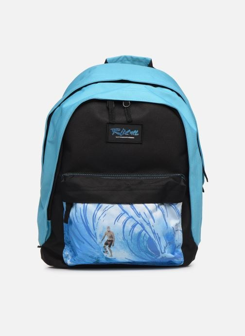 School bags Rip Curl DOUBLE DOME GLOW WAVE Blue detailed view/ Pair view