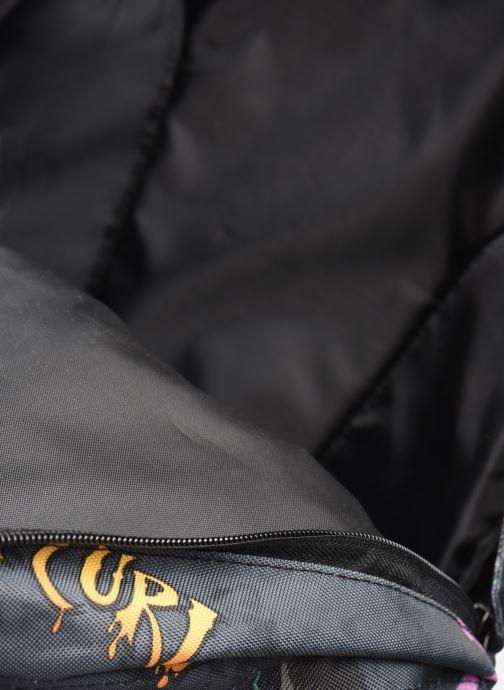Schooltassen Rip Curl DOUBLE DOME SPIKE EYE Zwart achterkant