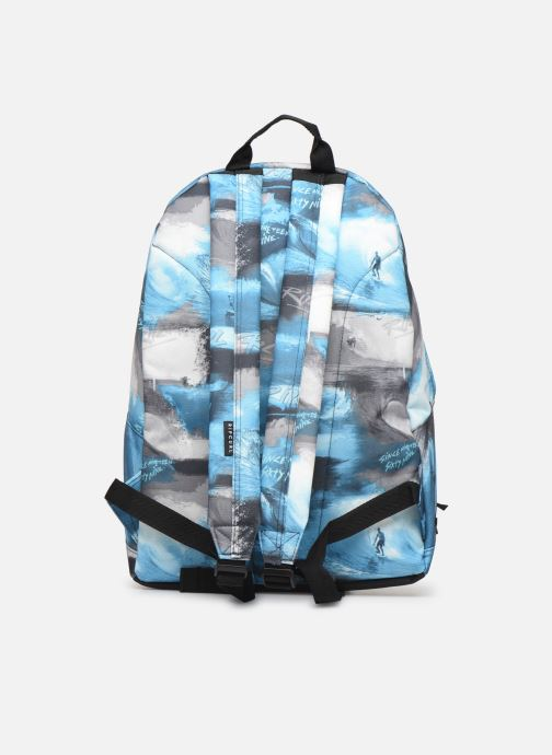 Scolaire Rip Curl DOUBLE DOME PHOTO SCRIPT Bleu vue face