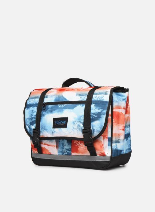 School bags Rip Curl SCHOOL SATCHEL PHOTO SCRIPT Blue model view