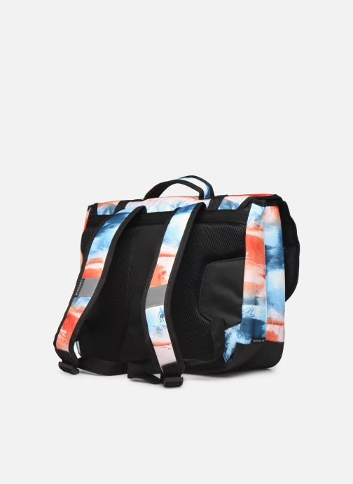 School bags Rip Curl SCHOOL SATCHEL PHOTO SCRIPT Blue view from the right