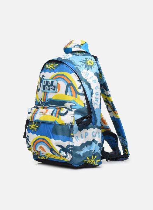 School bags Rip Curl MINI DOME SURF PLANET Blue model view