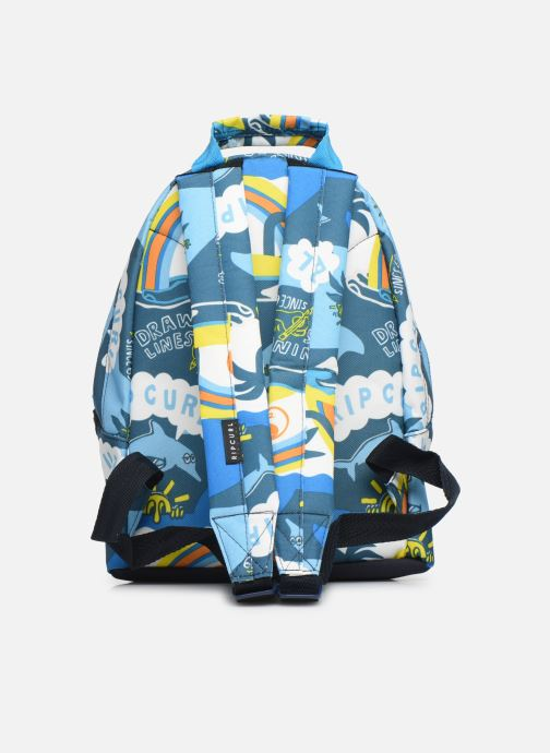 School bags Rip Curl MINI DOME SURF PLANET Blue front view