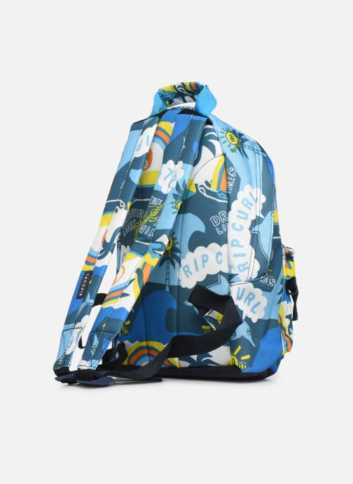 School bags Rip Curl MINI DOME SURF PLANET Blue view from the right