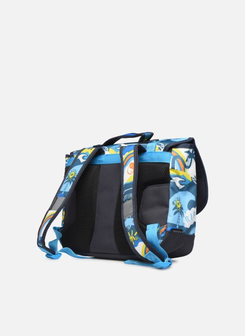 School bags Rip Curl SML SATCHEL SURF PLANET Blue view from the right