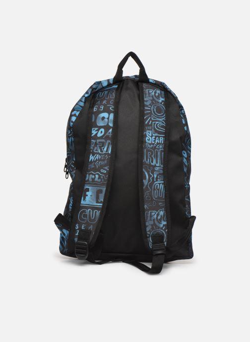 Skoletasker Rip Curl DOME PRO COVER UP + TROUSSE Blå se forfra