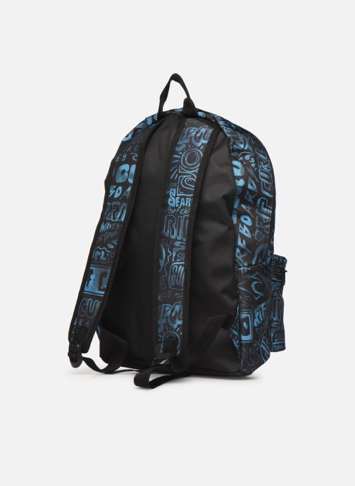 School bags Rip Curl DOME PRO COVER UP + TROUSSE Blue view from the right
