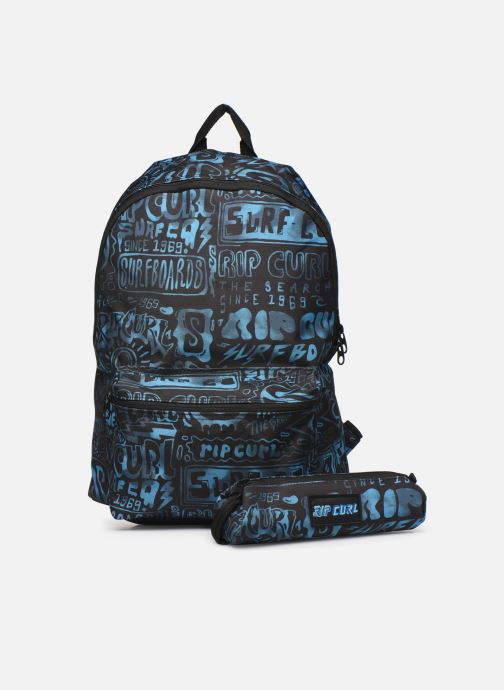 School bags Rip Curl DOME PRO COVER UP + TROUSSE Blue view from the left