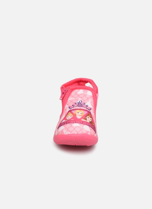 Chaussons Vaiana Scordia Rose vue portées chaussures