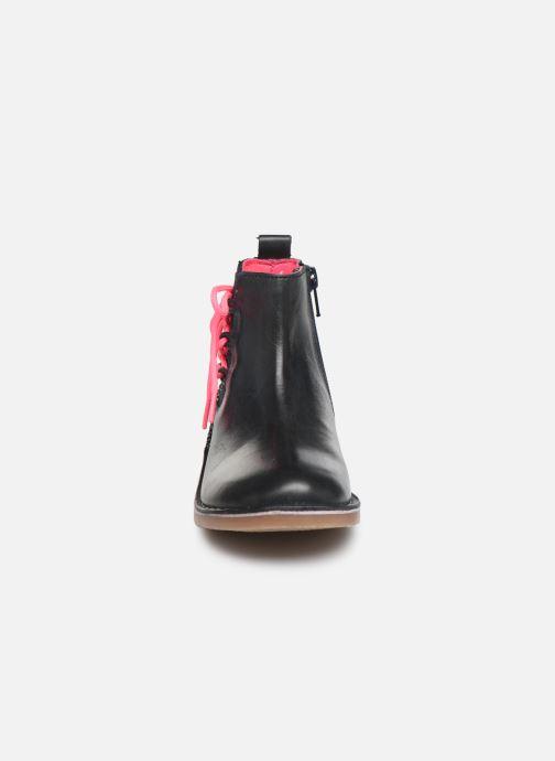 Bottines et boots Billieblush Bottes U19192 Bleu vue portées chaussures