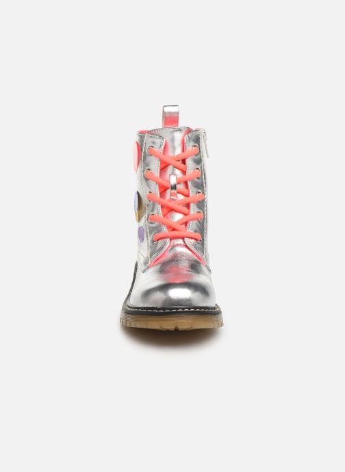 Bottines et boots Billieblush Bottes U19205 Argent vue portées chaussures