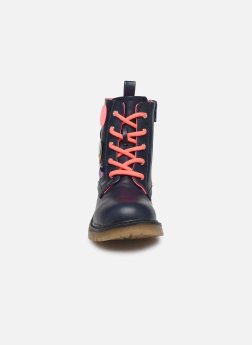 Bottines et boots Billieblush Bottes U19205 Bleu vue portées chaussures