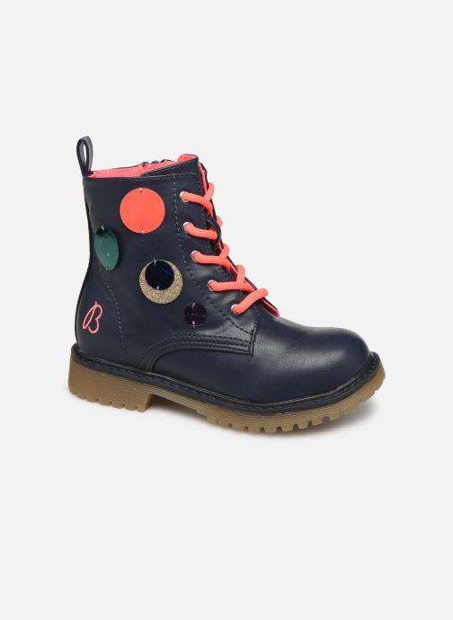 Bottines et boots Billieblush Bottes U19205 Bleu vue détail/paire