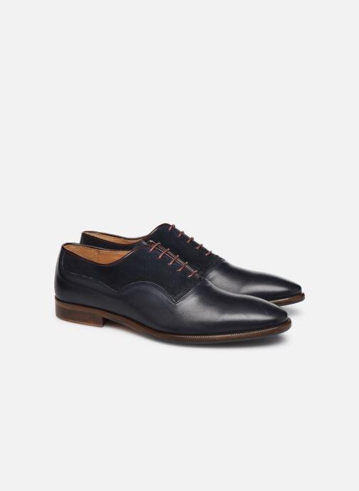 Zapatos con cordones Marvin&Co Luxe Dowson - Cousu Blake Azul vista 3/4