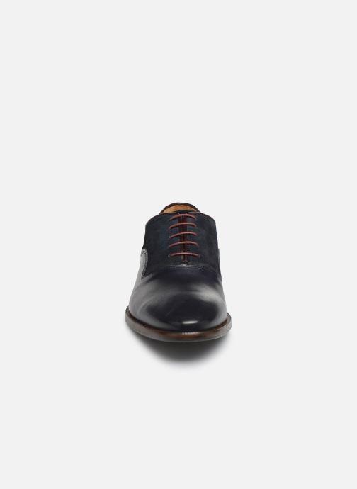 Zapatos con cordones Marvin&Co Luxe Dowson - Cousu Blake Azul vista del modelo