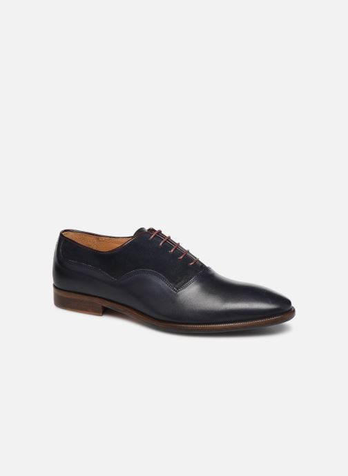 Lace-up shoes Marvin&Co Luxe Dowson - Cousu Blake Blue detailed view/ Pair view