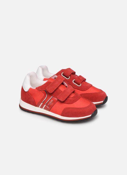 Sneakers BOSS Baskets J09117 Rood 3/4'