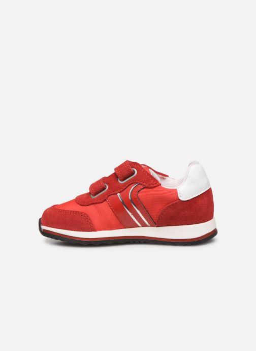 Sneakers BOSS Baskets J09117 Rood voorkant