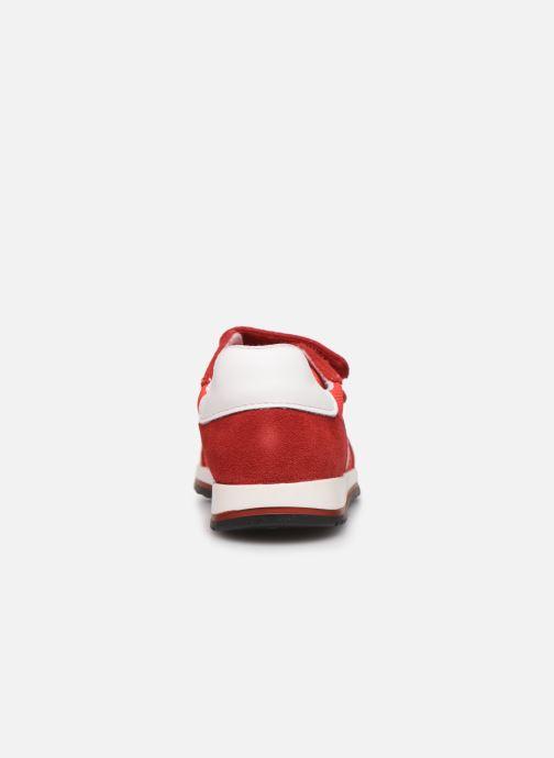 Sneakers BOSS Baskets J09117 Rood rechts