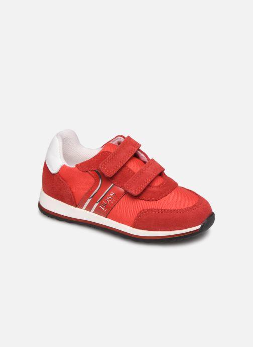 Sneakers BOSS Baskets J09117 Rood detail