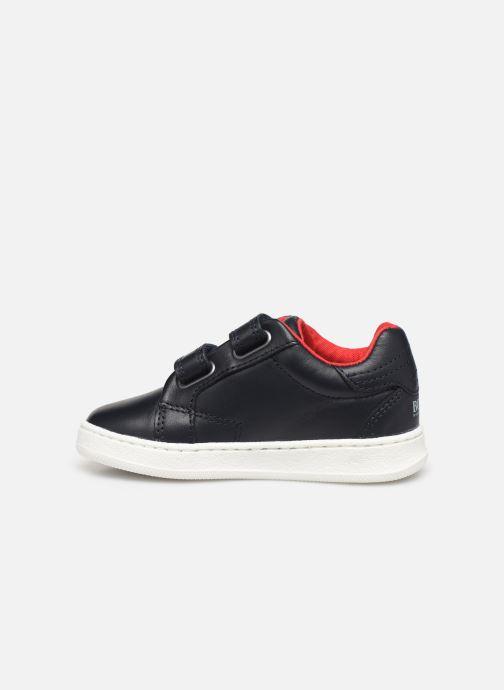 Sneakers BOSS Baskets J09119 Azzurro immagine frontale