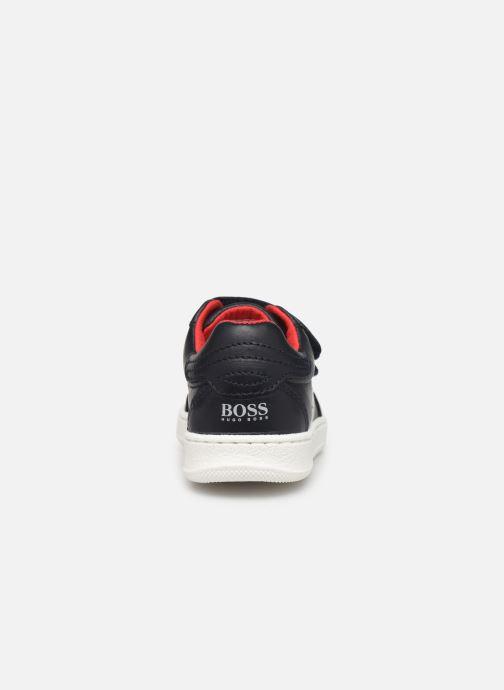 Sneakers BOSS Baskets J09119 Azzurro immagine destra