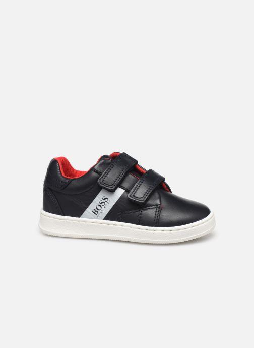 Sneakers BOSS Baskets J09119 Azzurro immagine posteriore