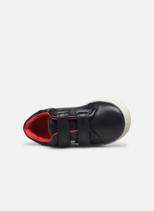Sneakers BOSS Baskets J09119 Azzurro immagine sinistra