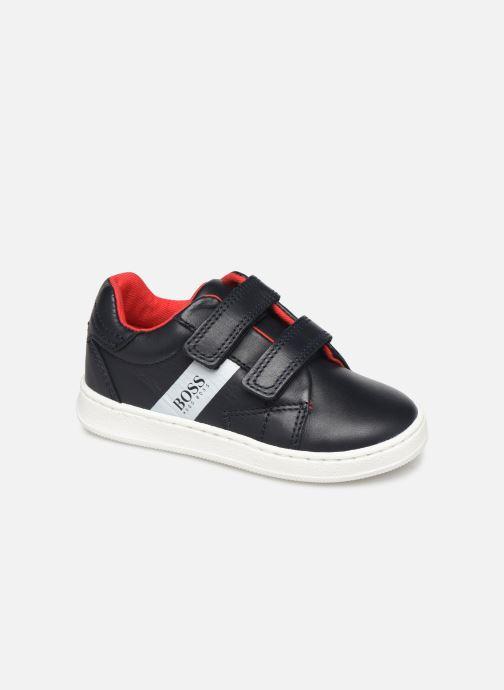 Sneakers BOSS Baskets J09119 Azzurro vedi dettaglio/paio