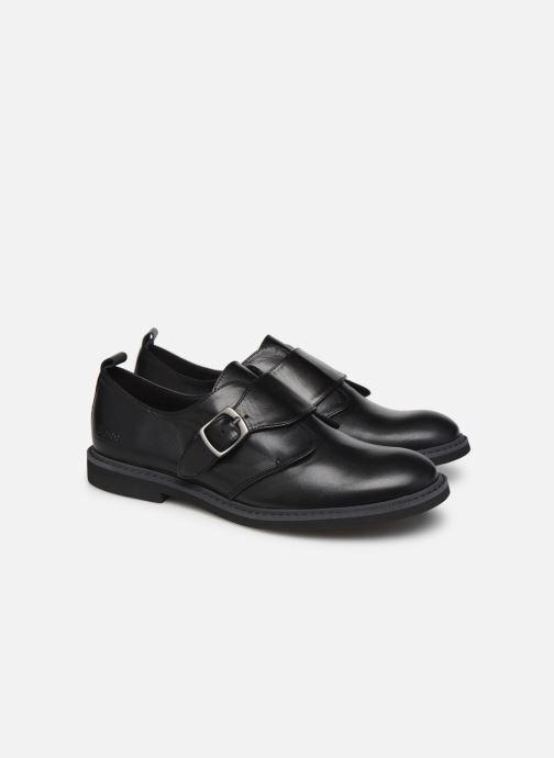 Zapatos con cordones BOSS Derby J29187 Negro vista 3/4