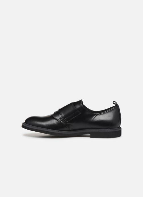 Chaussures à lacets BOSS Derby J29187 Noir vue face